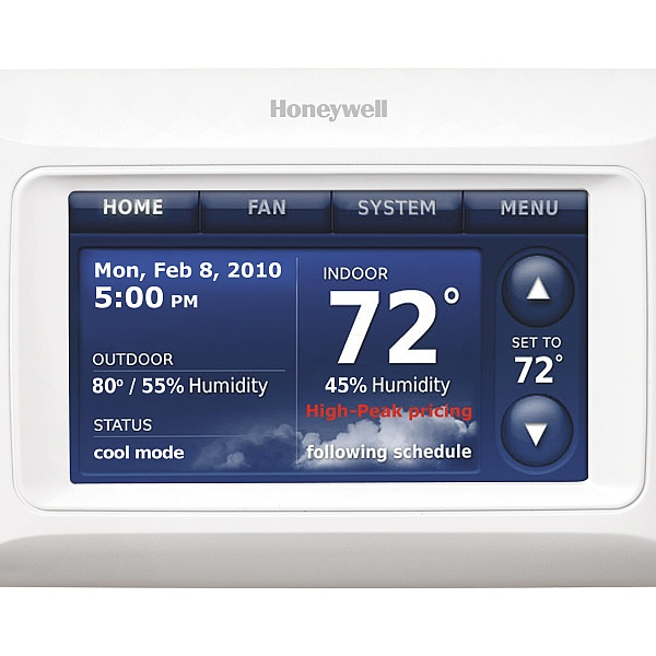 Tired of your old mercury thermostat?  Let BMC Services upgrade your home to the lasted thermostat technology with a Honeywell 8000